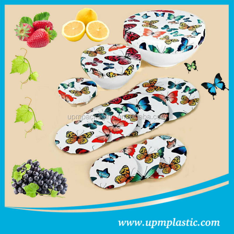 Household disposable degradable food contact plastic LDPE food cover