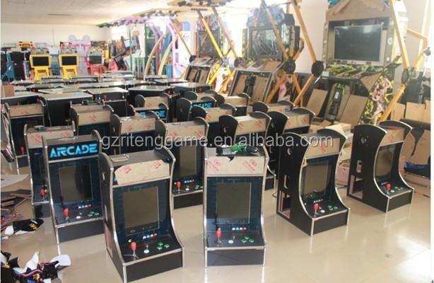 19 Inch LCD Classic Bartop Mini Arcade Machine