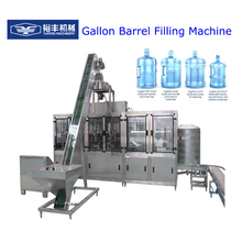 CE ISO automatic Linear 900BPH Plastic 3-5 gallon mineral water filling machine price