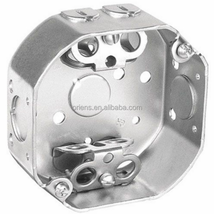 Galvanized Metal Octagonal Junction Box - Buy Junction Box,Metal ...