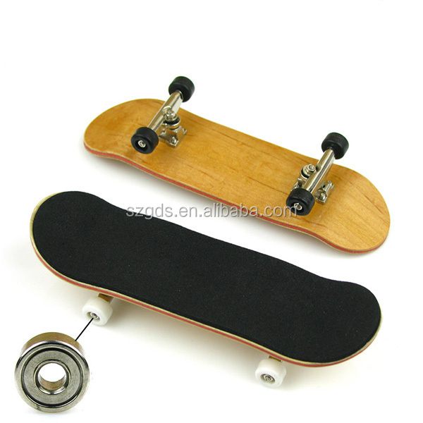 O logotipo do OEM imprimiu mini Fingerboards profissionais / o skate bordo do dedo