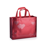 Direct factory recycled custom printing shopping tote laminated pp non woven bag