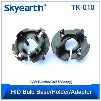 Hid Xenon Lamp Adapter For Vw B/ Jetta/golf 5 Vw Gti Golf Jetta ...