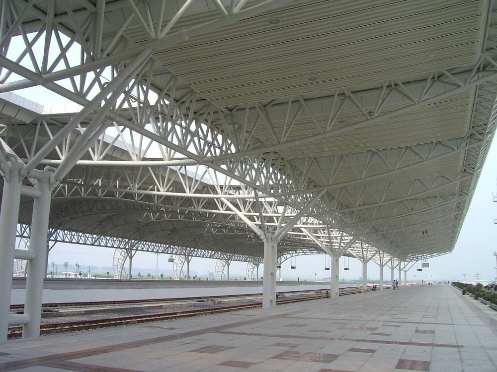 Prefab Roof Structures : Design light weight prefabricated galvanized steel roof