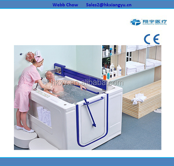 Rehabilitation Hydrotherapy Bath Tub For Old People,Water Massage ...
