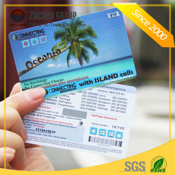 Customized Printing Scratch Calling Card And Win Cards