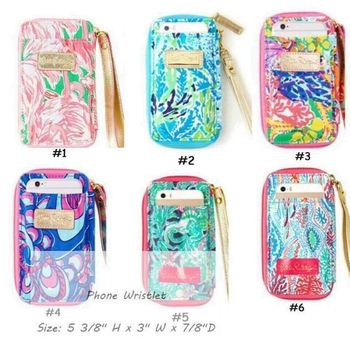 Wholesale Personality Lilly Pulitzer Phone Wristlet