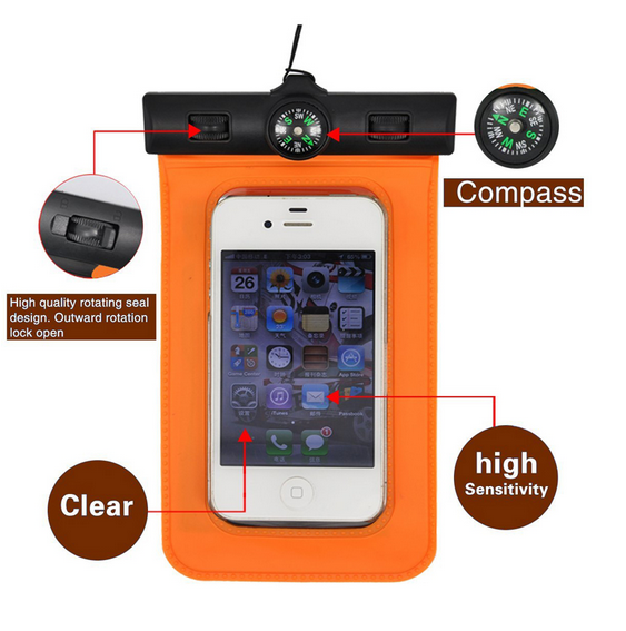 pvc Waterproof Mobile Phone Bag/Cell Phone Accessory