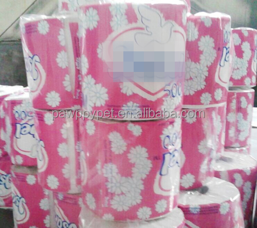 Soft Embossed bath tissue 12 rolls pack toilet paper rolls