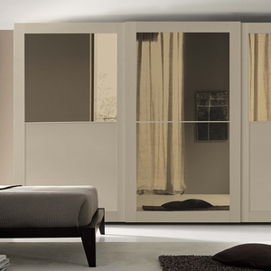 New design mdf wooden modular bedroom wardrobes closet for home furniture