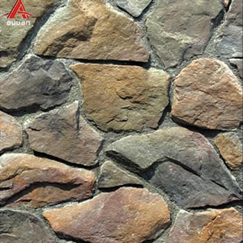 Ath 05 Guangzhou Faux House Diy White Stones Brick Artificial Wall Panel