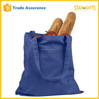 Wholesale Cheap Reusable Felt Trapezoidal Shopping Bag In Blue