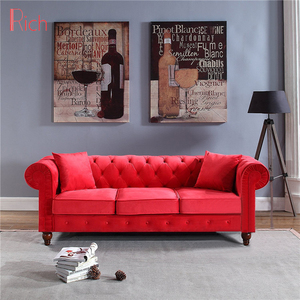 Red Velvet Sofa, Red Velvet Sofa Suppliers and Manufacturers ...