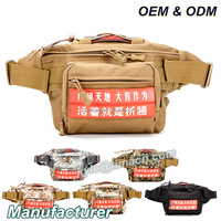 Outdoor Army Durable blue hot sale military travel waist bag