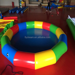 family baby swimming pool inflatable small or huge pool game sports Kids water inflatable bouncer factory for cheap sale