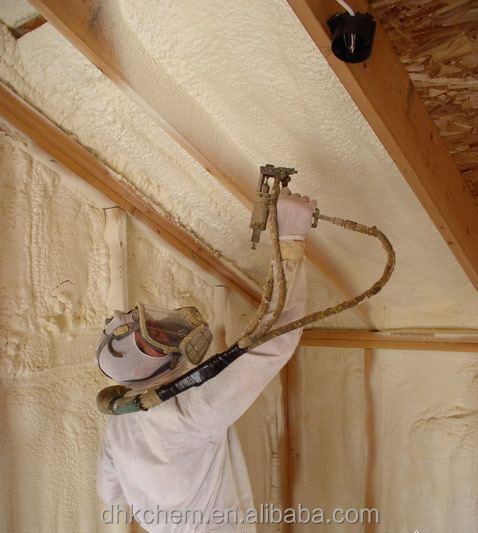 Rigid Polyurethane Spray Foaming Insulation of wall, roof, pipeline