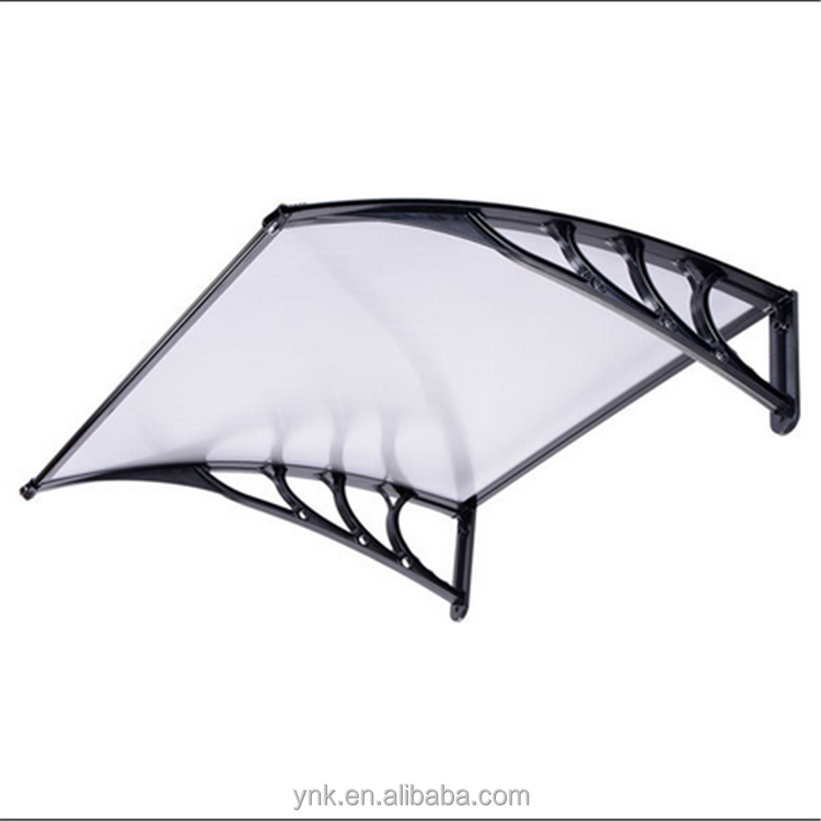 high quality Water-Proof clear aluminum awnings and canopies