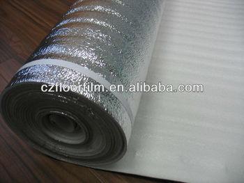 Polystyr ne mousse sous couche d 39 isolation thermique pour stratifi plancher flottant for Sous couche plancher flottant