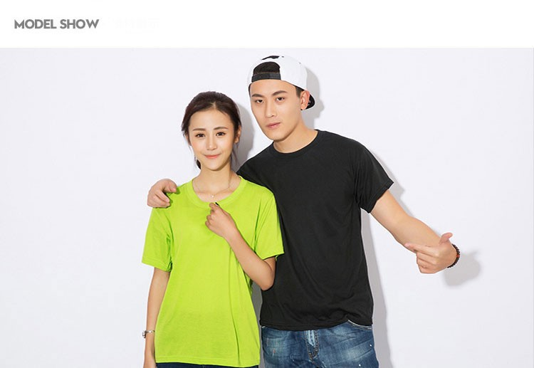 Free Sample 3D Printing Couple T-Shirt