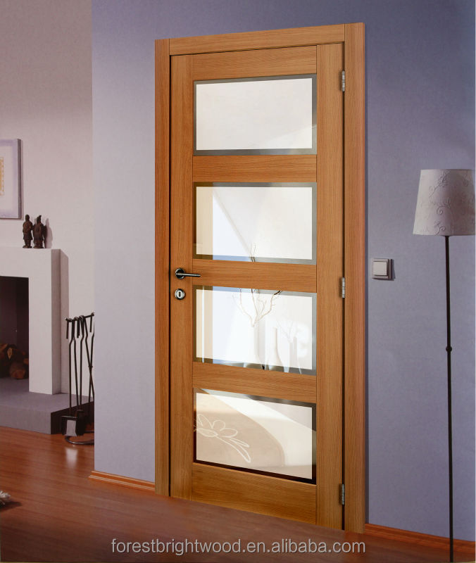 4 Panel Shaker Beveled Glass Interior Doors Wood Beveled Glass Interior Doors Buy Beveled