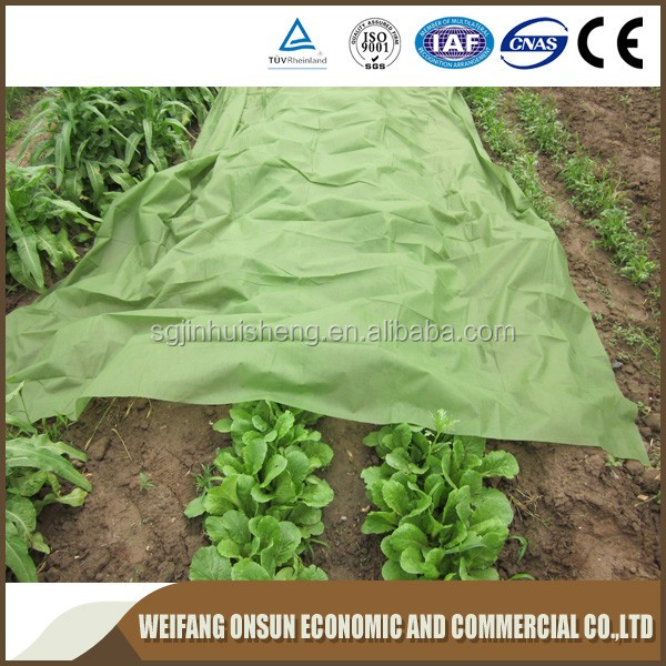 Delightful Breathable 100%polypropylene Non Woven Fabric Winter Anti Frost Plant Cover/all  Purpose Garden