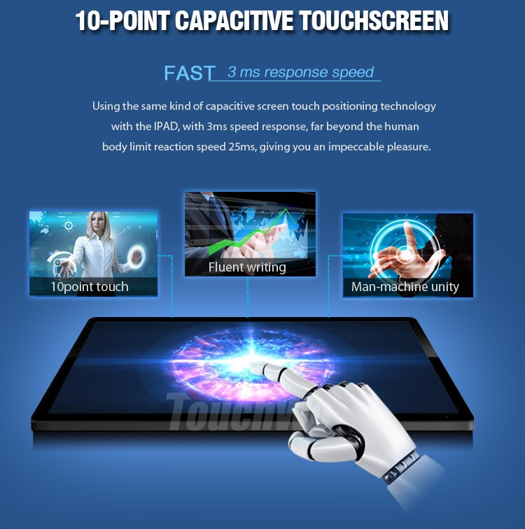 "12"" square 1024 x 768 resolution 450 nits High Brightness TFT LCD Touch Screen Industrial PC Monitor"