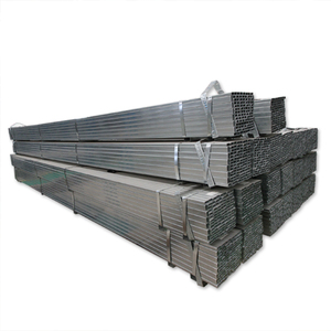 Galvanized steel/gi rectangular hollow section weight/MS carbon steel pipe price