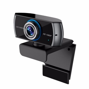 HD080P Webcam H.264 Streaming Gaming PC Camera with Two Mic 100 degree for Computer PC Desktop Laptop--C10