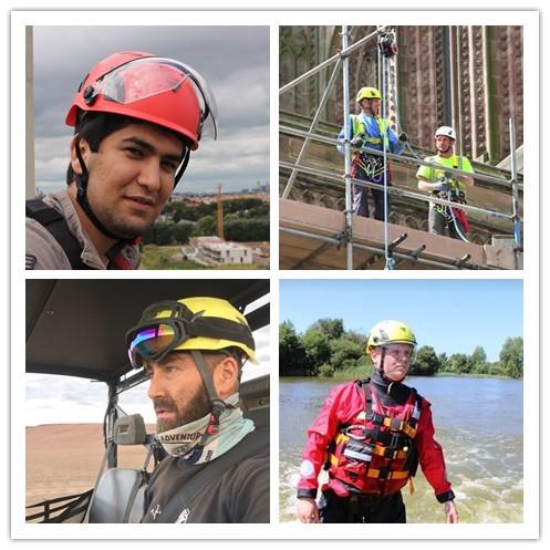 Custom Sea rescue/Roof Cleaning/Hiking Hard Hats 9