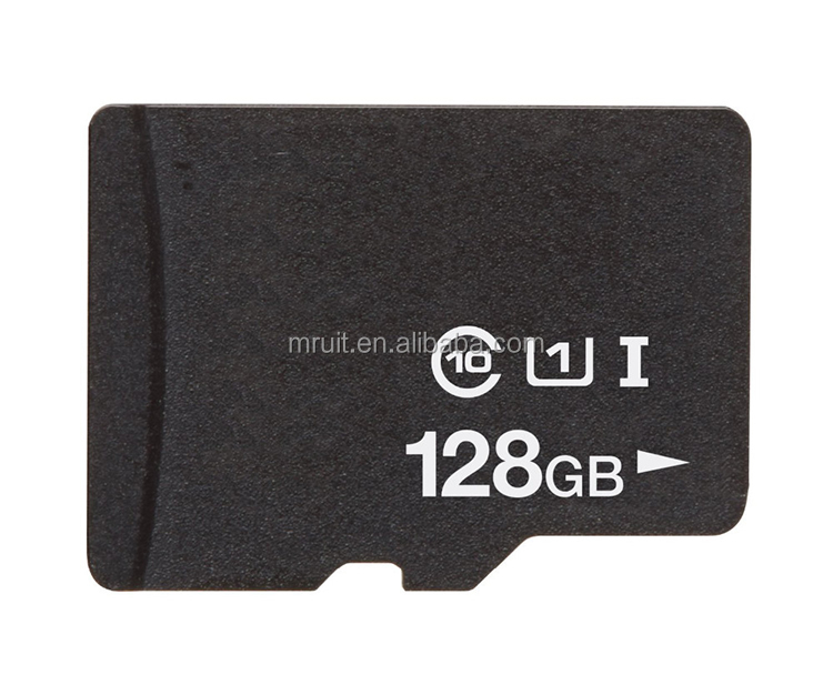 High capacity 128GB SD memory card for mobile phone