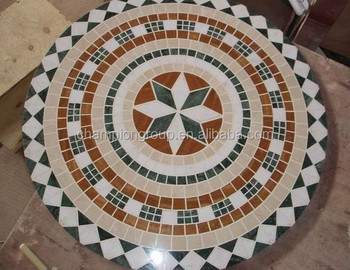 Mosaic Table Tops Tile Outdoor