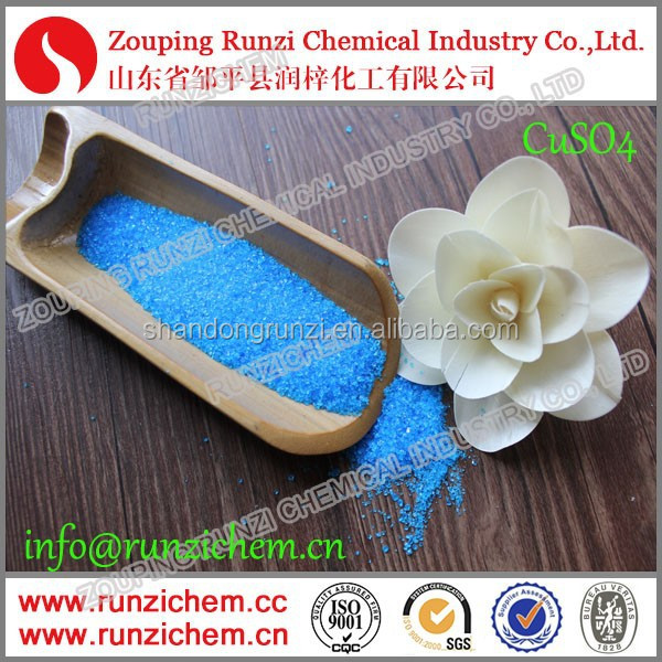 Chemical Formula CuSO4 Cupric Sulphate Blue Vitriol Crystal Copper Sulphate Pentahydrate