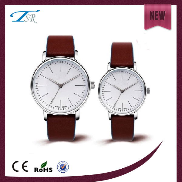 men women leather elegance watch,gfit watch 2016 couple guangdong at best price