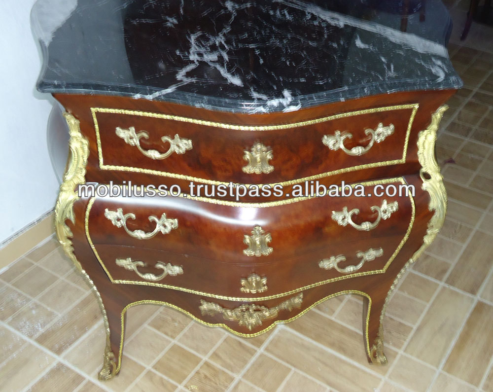 Commode French Antique Furniture Reproductions Style Chest Of ...