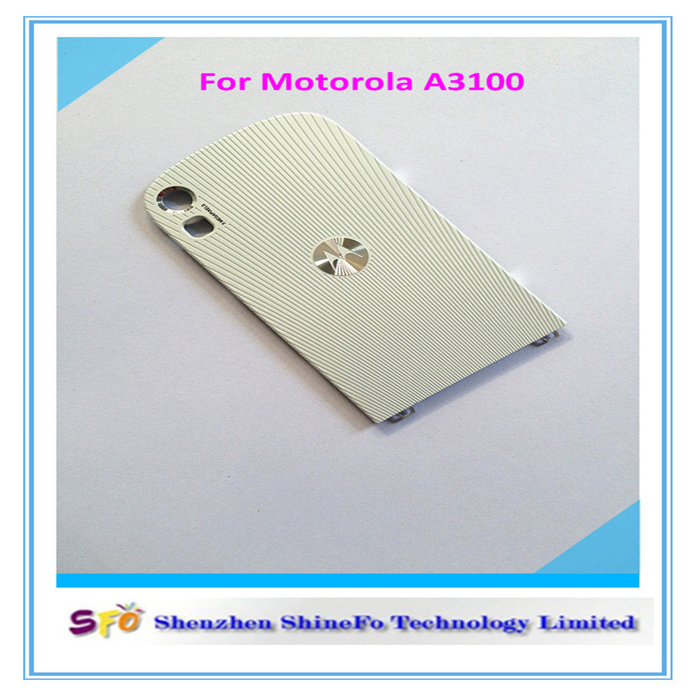 Colored metal back battery door housing cover for Motorola A3100