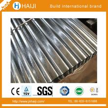 provincia de shandong de china sgcc galvanizado corrugado hoja de la pared y techo