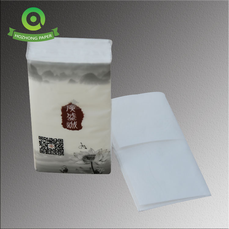 Hot sale soft mini-tissue pack pocket tissue facial tissue