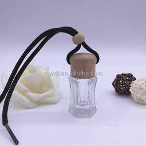 8ml hanging car perfume wholesale low price air freshener bottle for car made in China