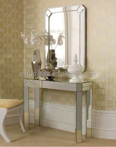 New Arrival Cheap Price Modern Mirrored Console Table With Wall Mirror    Buy Cheap Price Mirrored Console Table,Modern Wall Mirror With Table,New ...