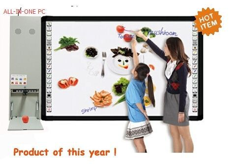 Multimedia all in one pc with projector, Combination of whiteboard