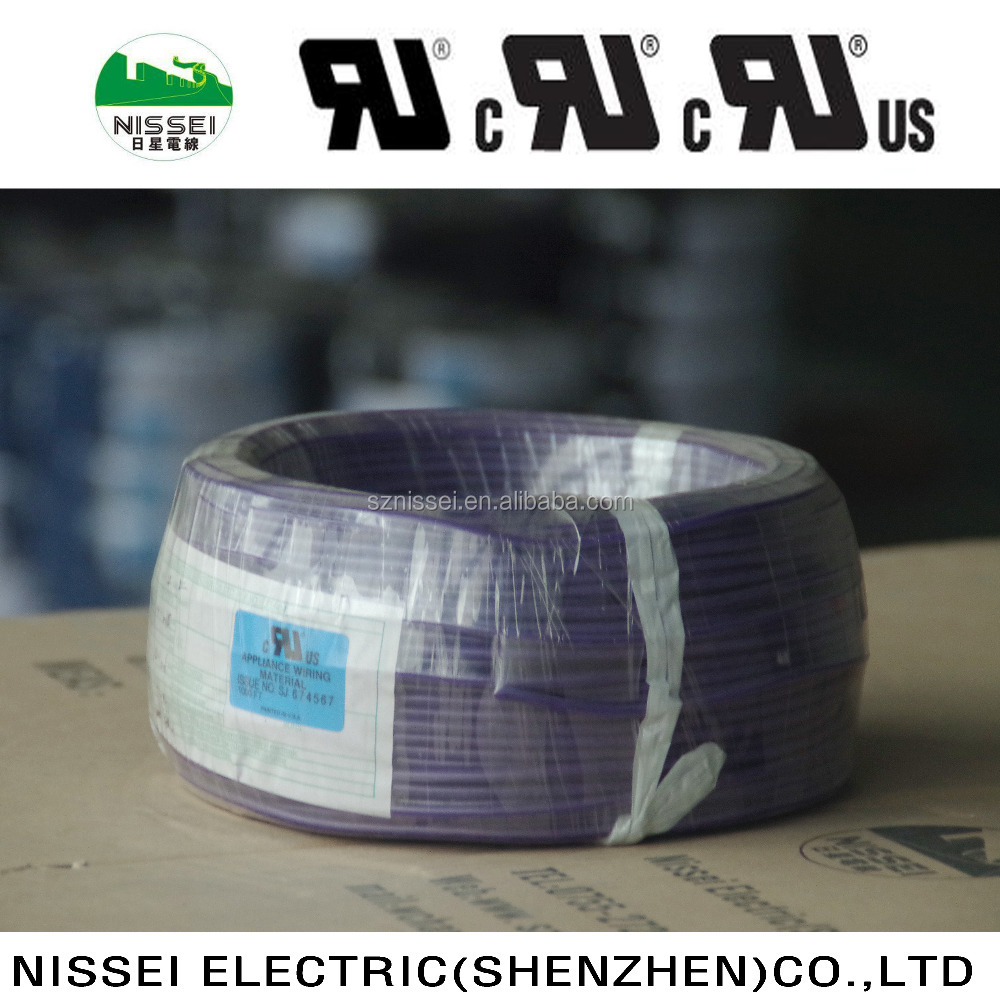 Ul1430 Irradiated Pvc Insulated Thin Electrical Wire 30-16awg - Buy ...