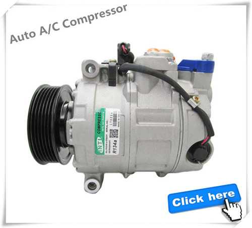 88320-02500 88310-1A730 88310-02500 Denso 6SEU14C for Corolla Matrix Scion XB Lexus LS Car 12V dc Air Conditioning AC Compressor