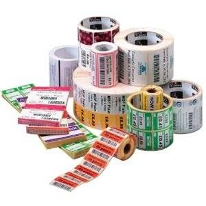 """Zebra Technologies Corporation - Zebra Label Paper 2 X 1In Direct Thermal Zebra Z-Perform 1000D 0.75 In Core - 2"""" Width X 1"""" Length - 36 / Carton - 350/Roll - 0.75"""" Core - Paper - Direct Thermal - White """"Product Category: Supplies/Labels"""""""