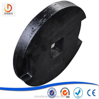 China supplier cast iron counter weight for elevator