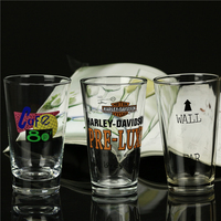 Handblown drinking glass cup customized glassware producer customer design hot sell clear drinking glass