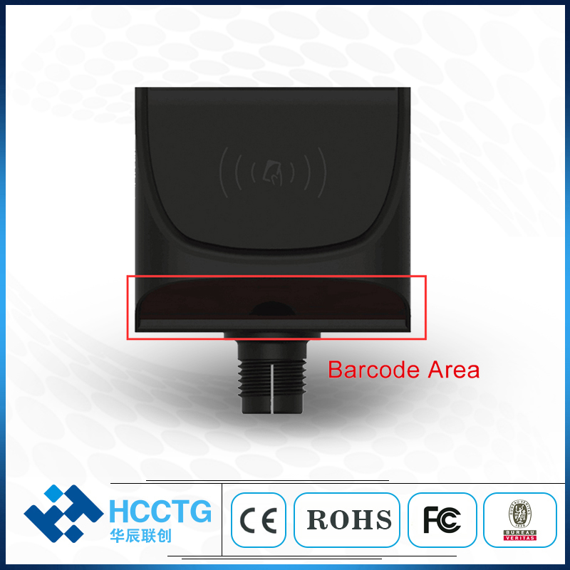 Ticket Machine Linux NFC QR Barcode Scanner Bus Validator HT80-A2