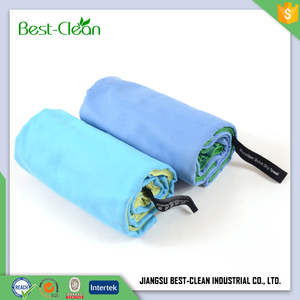 Good design custom quick dry microfiber gym towel fabric roll