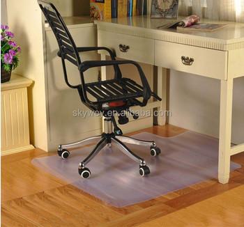 Pvc mesa de escrit rio tapete para piso de prote o buy - Protector mesa escritorio ...