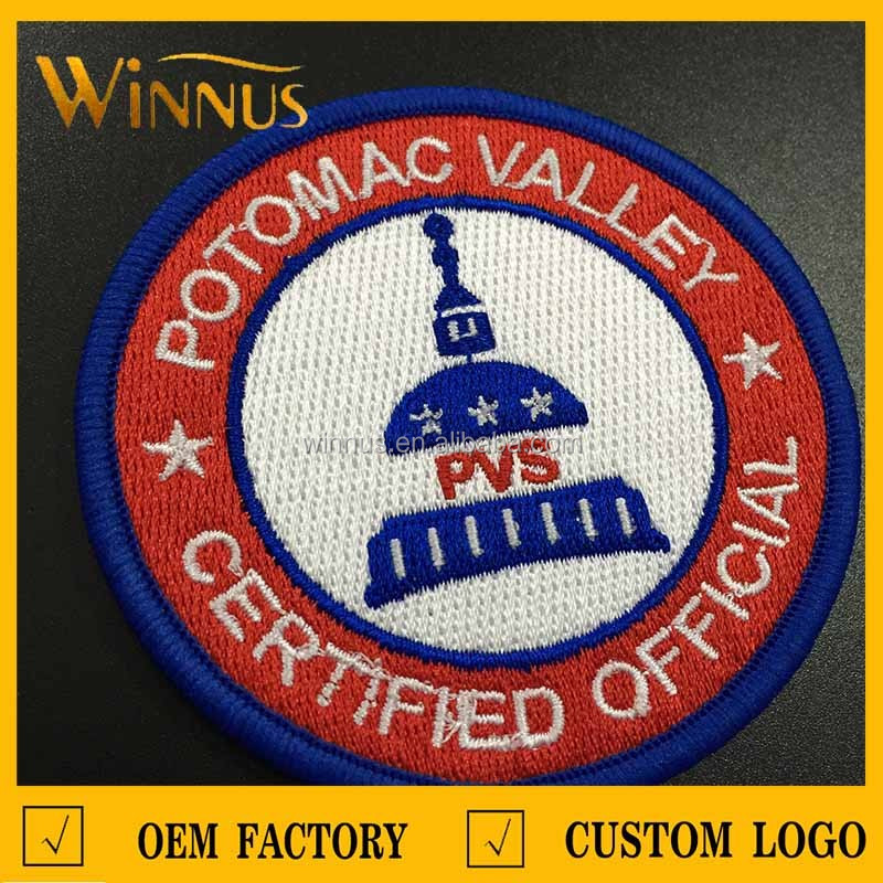 new design embroidered name patches for uniforms