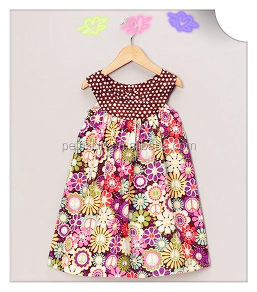 7e9304a4447 Wholesale High Quality Print Cotton Children Dress Sets Top International Clothing  Dress